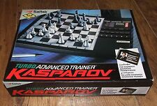 SAITEK - KASPAROV Turbo Advanced Trainer Chess Computer - Boxed & Instructions
