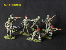 Airfix pose collection 1/32 british paratroops. professionnellement peint