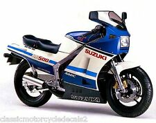 SUZUKI RG500 RG400 PAINTWORK RESTORATION DECAL SET MARK 1