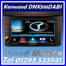 Kenwood DNX516DABS Sat Nav Apple CarPlay Android Auto  ZGB 000 035 516 VW