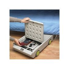 Portable Small Safe  Under Bed Security Lock Roll Key Home Storage Money Office