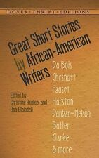 Dover Thrift Editions Ser.: Great Short Stories by African-American Writers...