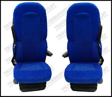 SCANIA 4 Velour seat covers in Blu [CAMION RICAMBI E ACCESSORI]