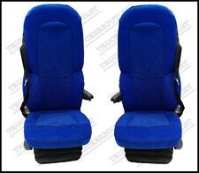 SCANIA 4 Velour seat covers in Blu [CAMION RICAMBI E ACCESSORI]