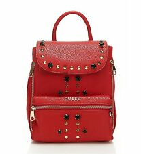 NEW-GUESS ALANIS MEDIUM SIZED  BACKPACK WITH STUDS