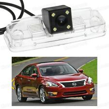 4 LED Car Rear View Camera Reverse Backup CCD for Nissan Altima 2013 2014 13 14
