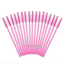 100Pcs Disposable Eyelash Brush Mascara Wands Applicator Spoolers Makeup Tool#