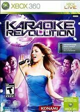 Xbox 360 KARAOKE REVOLUTION DISC Only Professionally Cleaned! Others for sale