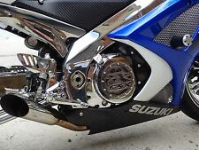 Suzuki 2007-2008 GSXR 1000 Chrome Sub Frame Covers
