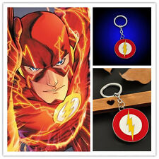1PC Superman The Flash Lightning Logo Metal Keychain The Avengers Car Key Ring