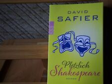 David Safier - Plötzlich Shakespeare