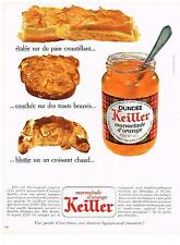 PUBLICITE  1969   KEILLER  marmelade d'orange confiture