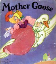 Fern Bisel Peat, MOTHER GOOSE, 1934, 8 color plates