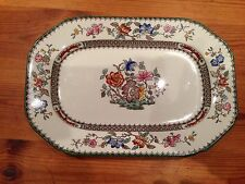 Copeland Late Spode Chinese Rose platter c1915
