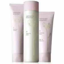 AMWAY ARTISTRY essentials ausgleichen Hautpflegesystem Reiniger+Toner+Lotion Set