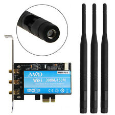 Dual Band AR9380 Wireless WIFI Card Desktop PCI-E X1 450M For Mac Pro AR5BXB112