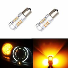 JDM ASTAR 1156 BA15S Amber PX SMD 12V LED High Power Backup Reverse Light Bulbs