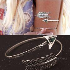 Retro Silber Armband Adjustable Bracelet Damen Armreif Modeschmuck # 25613