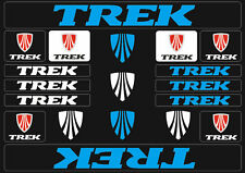 Trek Mountain  Bicycle Frame Decals Stickers Graphic Adhesive Set Vinyl Blue