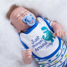 Lifelike Reborn Baby Toddler Doll Lifelike New Silicone Newborn Boy Kids Gift