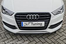 Spoilerschwert Frontspoilerlippe Cuplippe ABS für Audi A3 S3 8V S-Line Limousine