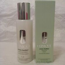 Clinique Even Better Essence Lotion 6.7OZ Very Dry to Dry Combination  Skin 1,2