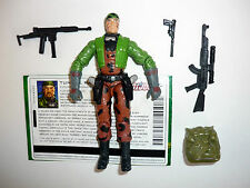 GI JOE TUNNEL RAT Action Figure COMPLETE w/FILE CARD 3 3/4 C9+ v4 2004