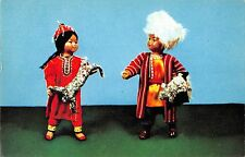 BR57176 gift dolls in turkmen national costumes folklore