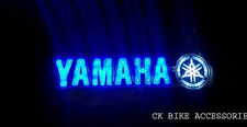 Stylius WaterProof White Motorcycle Led Light Sticker Logo For Yamaha FZ 150 V1