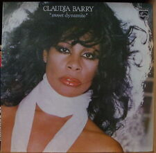 "CLAUDJA BARRY ""SWEET DYNAMITE"" RARE COVER FRENCH  LP"