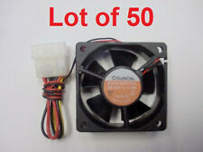 NEW! SUNON 60mm 4 Pin Molex  Case Cooling fan (KD1206PTS3) Lot of 50