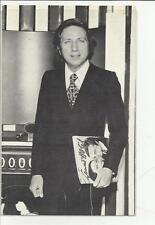 vecchia cartolina di mike bongiorno a retro e' stampato : su grand hotel ....