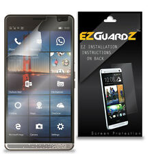 4X EZguardz NEW Screen Protector Skin Cover Shield HD 4X For HP Elite X3 (Clear)