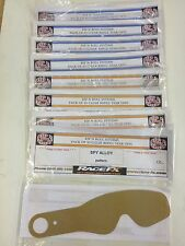 50 X RIP N ROLL TEAR OFFS FOR SCOTT VOLTAGE GOGGLES FREE UK POSTAGE