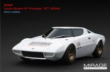 RARE! HPI #8448 Lancia Stratos HF Prototype 1971 White Integrale WRC 1/43 Model