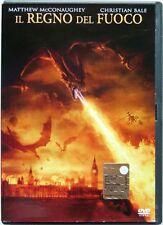 Dvd Il Regno del Fuoco - Ologramma tondo con Christian Bale 2002 Usato raro