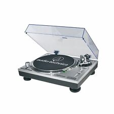 audio-technica AT-LP120-USB Direct-Drive Turntable/cartridge/phono preamp,Silver