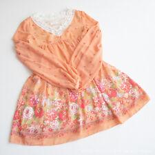 LIZ LISA Floral Lace Collar OP Tunic Dress Romantic Lolita Hime Kawaii Japan