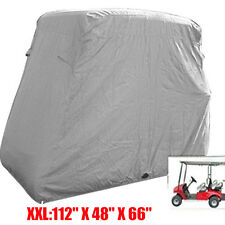 "4 Passenger GOLF CART COVER For Yamaha EZ GO Club Car Eagle Storage 112"" XXL OY"
