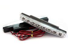 8LED Durante el día Conducción Correr Luz DRL Coche Niebla LED luz Impermeable