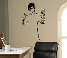 Bruce Lee Wall Vinyl Decal Film Actor Vinyl Sticker Martial Artist Home Decor 15