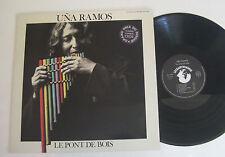 LP Uña Ramos – Le Pont De Bois - VG++ Le Chant Du Monde
