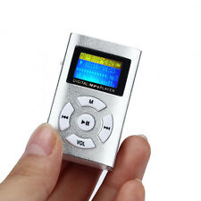 USB Mini MP3 Player LCD Screen Support 32GB Micro SD TF Card HOT!!!