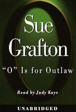 Kinsey Millhone Mystery: O Is for Outlaw by Sue Grafton (1999, Audio, Other, Ab…
