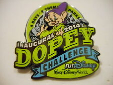 WDW 2014 Disney Inagural Dopey Challenge 3-D Disney Pin Limited Release