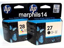 Genuine HP27 & HP28 negro y color de los cartuchos de tinta C8727A/C8728A