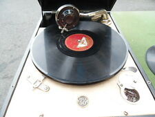 CASED TRAVELLING GRAMOPHONE BY DECCA
