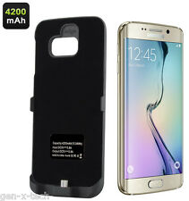 Samsung Galaxy S6 Edge External 3500mAh Battery Back Case / Cover - Light Weight