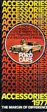 1977 Ford LTD Mustang Pinto Accessories 16-page Original Car Brochure Catalog