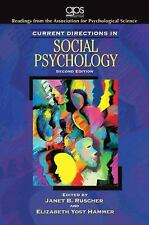Current Directions in Social Psychology (2nd Edition) (Association for-ExLibrary
